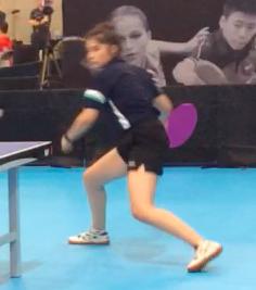 Adina Maria Cuchirita - Championnat Canadien de Tennis de Table 2018
